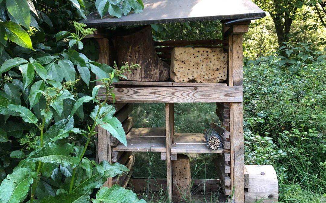 Insektenhotel im Pagalino